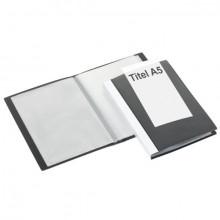 FolderSys Sichtbuch in schwarz