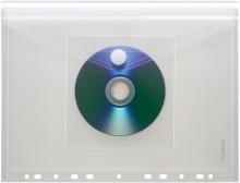 FolderSys PP-Umschlag in transparent mit CD-Tasche