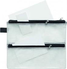 FolderSys Vierkammer-Beutel mit Reißverschlüssen
