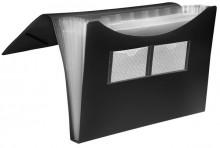 FolderSys Fächertasche in schwarz