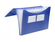FolderSys Fächertasche in blau