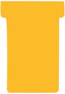 Einsteckkarten, 84x48mm, orange 170 g/qm, Größe 2