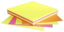 Haftnotiz Würfel, 75 x 75mm, 320 Blatt, Brillantpink,