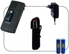 Handdiktiergeräteset Sh 10 inkl. Akku, Netz-/Ladegerät und Tasche