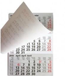 Ersatzkalendarium mit Wochenübersicht