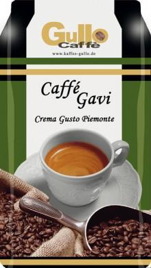 Gullo Caffee Crema Gusto Piemonte, ganze Bohnen