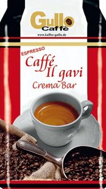 Gullo Caffee il Gavi Crema Bar, ganze Bohnen