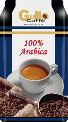 Gullo Caffee 100% Arabiaca, ganze Bohnen