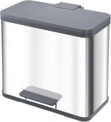 Tret-Mülleimer Harmony M, silber 12 Liter, Inneneimer Kunststoff