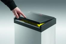Großraum-Müllbox Big-Box Swing XL weiß, 52 Liter mit selbstschließendem Schwingdeckel
