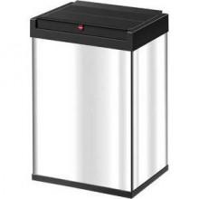 Hailo Großraum-Abfallbox Big-Box 40 Liter, Edelstahl