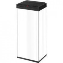 Hailo Großraum-Abfallbox Big-Box 60 Liter, Stahlblech weiß