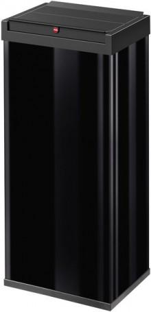Hailo Großraum-Abfallbox Big-Box 60 Liter, Stahlblech schwarz