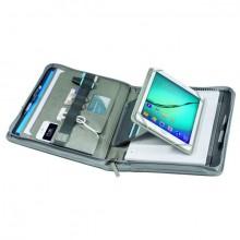 TabletOrganizer A4 Hannover, Light Grey, umlaufender Reißverschluss