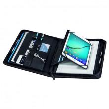 TabletOrganizer A4 Hannover, schwarz, umlaufender Reißverschluss