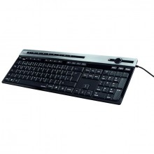 Tastatur Media, Molina schwarz, kabelgebunden 1,4 m, USB-A-Stecker