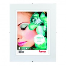Rahmenloser Bilderhalter ClipFix, A4, Glasart: Reflex