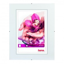 Rahmenloser Bilderhalter ClipFix, 50 x 70 cm, Glasart: Antireflex
