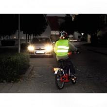 Kinder-Warnweste Automotive neongelb 2 Reflexstreifen, Klettverschluss