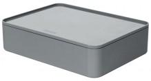 Smart-Organizer Allison, Innen- schale und Deckel, granite grey