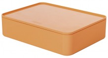 Smart-Organizer Allison, Innen- schale und Deckel, apricot orange