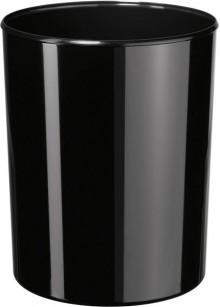 Papierkorb Elegance schwarz 13 Liter, hochglänzend