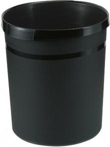 Papierkorb GRIP KARMA öko-schwarz 18 Liter
