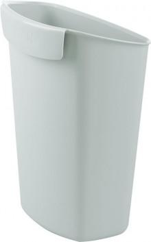 Papierkorb Abfalleinsatz 2,5 Liter lichtgrau, für Papierkörbe 18190