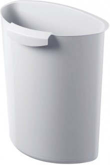 Papierkorb Abfalleinsatz 6l l.grau f. Papierkörbe 18l und 30l