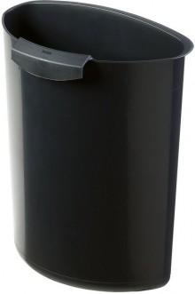 Papierkorb Abfalleinsatz 6l schwarz f. Papierkörbe 18l und 30l