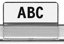 Sichtreiter für HAN Stützplatten 9024,9025,9026 und 9027