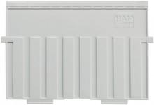 Stützplatten A5 quer Kunststoff gr