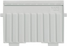 Stützplatten A6quer Kunststoff gr