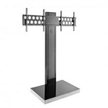 "Info-Tower Dual L f. Flachbildschirm Mobiles Standsystem 2x 40-55"" H:1895mm"