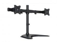 """Tischhalterung M Table Mount FS Dual schwarz 2x 15-27"""" max. 2x 8 kg VESA"""