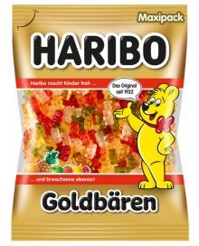 Haribo Goldbären Maxipack 1 KG Beutel Fruchtgummi in frischen , fruchtigen