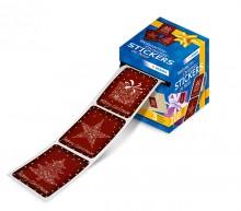 Weihnachtssticker Merry Christmas 200 Sticker auf Rolle