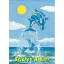 Stickeralben A5 hoch Der Kleine Delfin