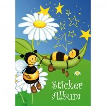 Stickeralben A5 hoch Bienenwiese