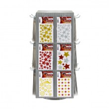 Display Stickerwelten Weihnachten 240 Packungen