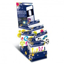 Sortiment Reflektorsticker Sort 30 Pack