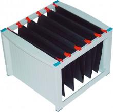 Helit Hängeregistraturgestell grau/blau, stapelbar