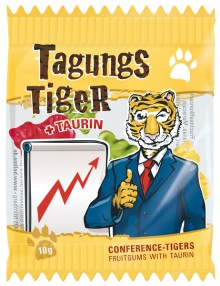 Fruchtgummi Tagungs-Tiger 10g Bunte Fruchtgummi in Tiger-Form