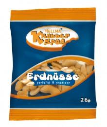 HELLMA Erdnüsse 100 Portionen à 25 g