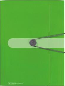Herlitz Gummizugmappe in grün