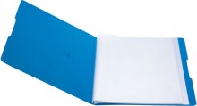 Sichtbuch PP A4, 20 Hüllen, blau opak f. 40 Blätter, mit Rückenschild