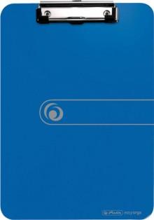 Klemmbrett PS A4 blau opak