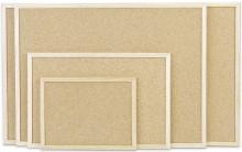 Kork Pinntafel mit Holzrahmen Abmeßung: 800x600mm