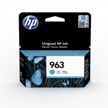 Tintenpatrone 963 cyan für OfficeJet 901x und 902x Serie