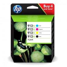 Tintenpatrone 912XL farbig für OfficeJet 801x und 802x Serie